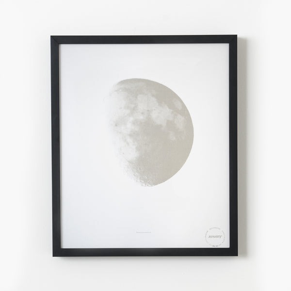 Moon and Back—Silver & White