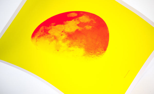 Moon and Back—Yellow & Orange