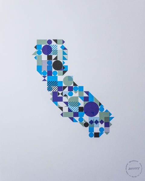 California—Blue
