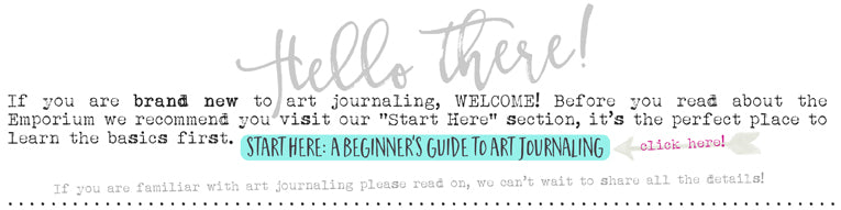 A Beginner's Guide to Art Journaling, What is Art Journaling by Tangie Baxter
