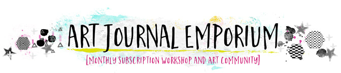 Join us for the Art Journal Emporium Workshop