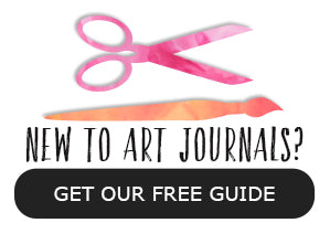 "Download our free ""A Beginner's Guide to Art Journaling"" by Tangie Baxter"