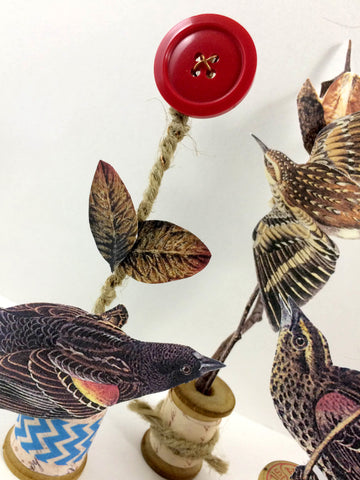 Mixed Media Tchotchkes - Tangie Baxter & Co - posted by Karli-Marie