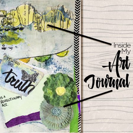 Inside My Art Journal from Tangie Baxter & Co