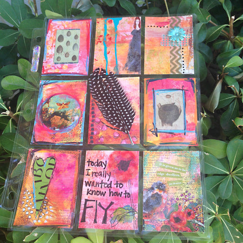 Art Journal Pockets, FREE Workshop by Tangie Baxter