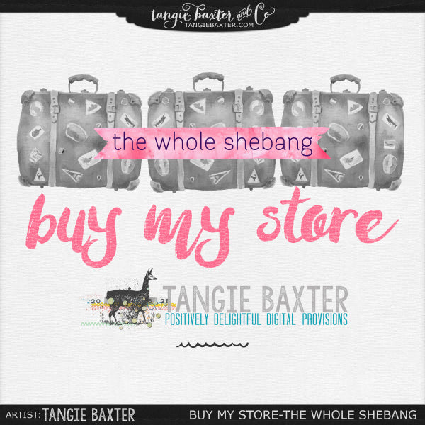 Tangie Baxter buy my store the whole shebang!