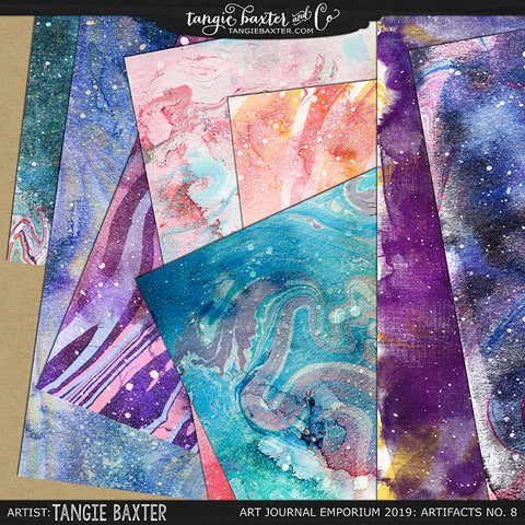 Artifacts No. 8: Marbled Moonbeams Papers