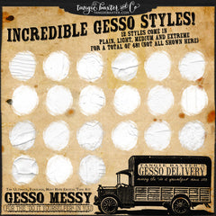 Gesso Messy the Truckload {Personal Use}