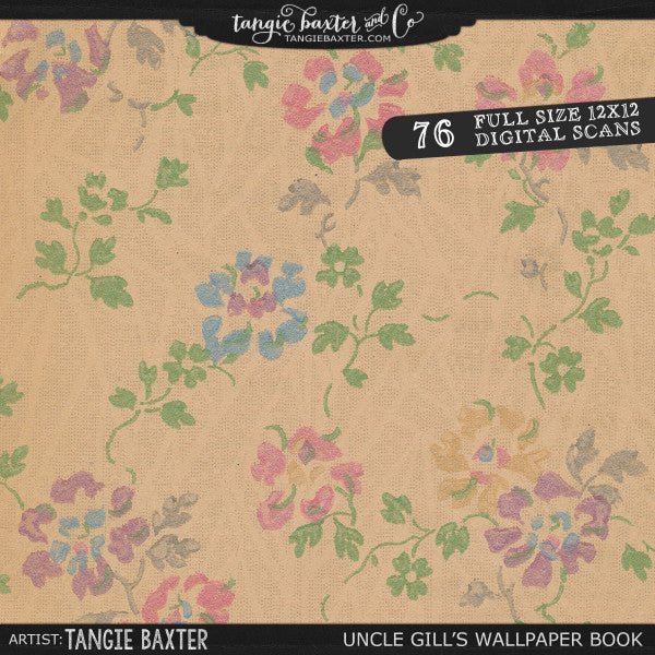 Uncle Gill S Wallpaper Book Personal Use Tangie Baxter