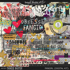FANGIRL! {Kit & Word Art} Only