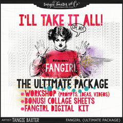 FANGIRL! I'll take it all! {Kit & Workshop}