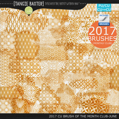 2017 Brush of the Month Club -June Brushes