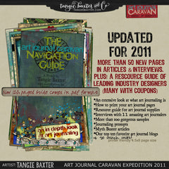 Art Journal Caravan™ Workshop Expedition 2011 {Self-Study}