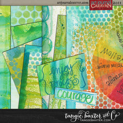 Art Journal Caravan™ Workshop 2011 {PARCEL BUNDLE}