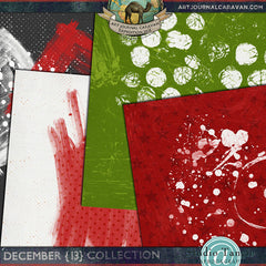 Art Journal Caravan™ 2013 {December Collection}
