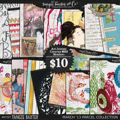 Art Journal Caravan™ 2013 {March Collection}