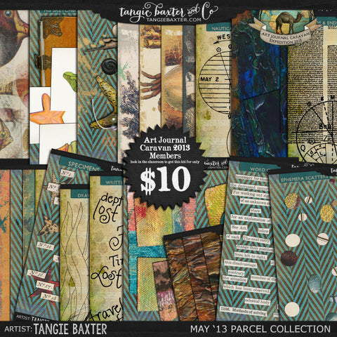 Art Journal Caravan™ 2013 {May Collection}