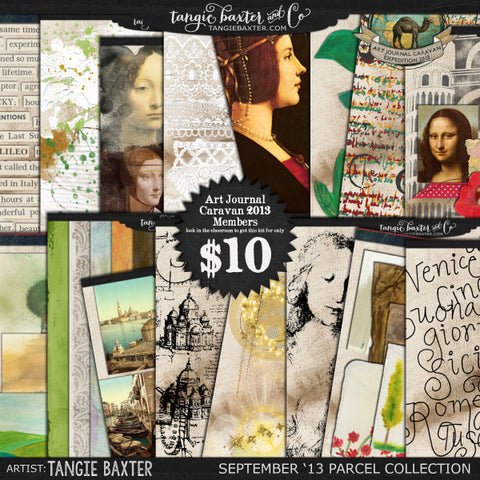 Art Journal Caravan™ 2013 {September Collection}
