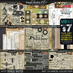 Art Journal Caravan 2014 {May Collection}