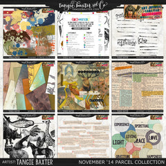Art Journal Caravan 2014 {November Collection}