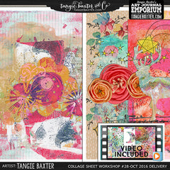 -Collage Sheet Workshop #28 {Oct. '16 Delivery}