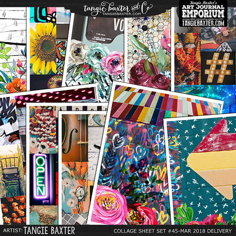 -Collage Sheet Set #45 {Mar '18 Delivery}