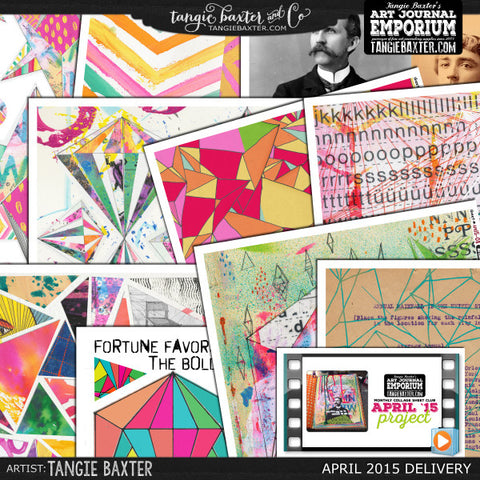 -Collage Sheet Workshop #10 {April '15 Delivery}