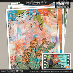 -Collage Sheet Workshop #22 {April '16 Delivery}