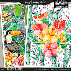 -Collage Sheet Set #46 {April '18 Delivery}