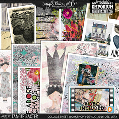 -Collage Sheet Workshop #26 {August '16 Delivery}