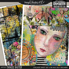 -Collage Sheet Set #38 {Aug '17 Delivery}