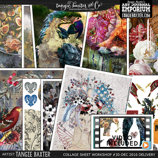 -Collage Sheet Workshop #30 {Dec. '16 Delivery}