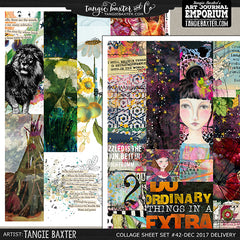 -Collage Sheet Set #42 {Dec '17 Delivery}