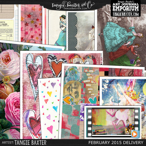 -Collage Sheet Workshop #08 {Feb '15 Delivery}
