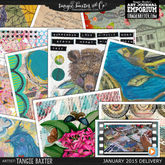 -Collage Sheet Workshop #07 {Jan '15 Delivery}