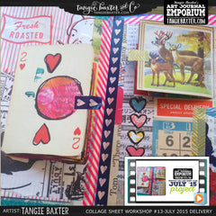 -Collage Sheet Workshop #13 {July '15 Delivery}