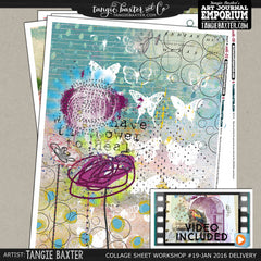 -Collage Sheet Workshop #19 {January '16 Delivery}