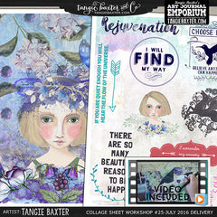 -Collage Sheet Workshop #25 {July '16 Delivery}