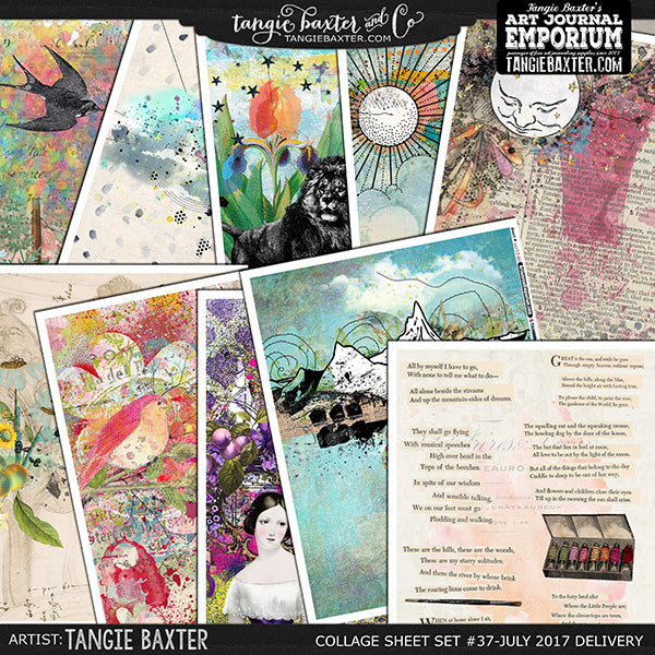 -Collage Sheet Set #37 {July '17 Delivery}