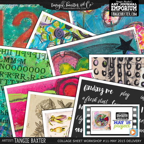-Collage Sheet Workshop #11 {May '15 Delivery}