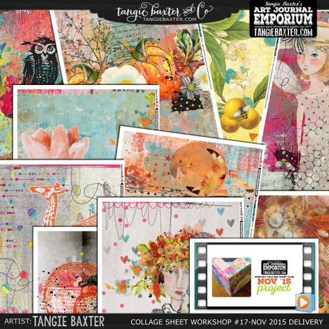 -Collage Sheet Workshop #17 {November '15 Delivery}
