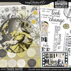 -Collage Sheet Workshop #29 {Nov. '16 Delivery}