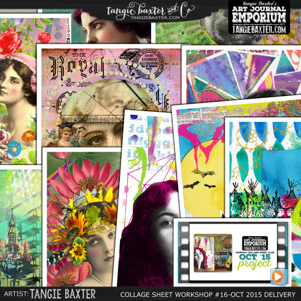-Collage Sheet Workshop #16 {October '15 Delivery}