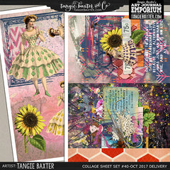 -Collage Sheet Set #40 {Oct '17 Delivery}