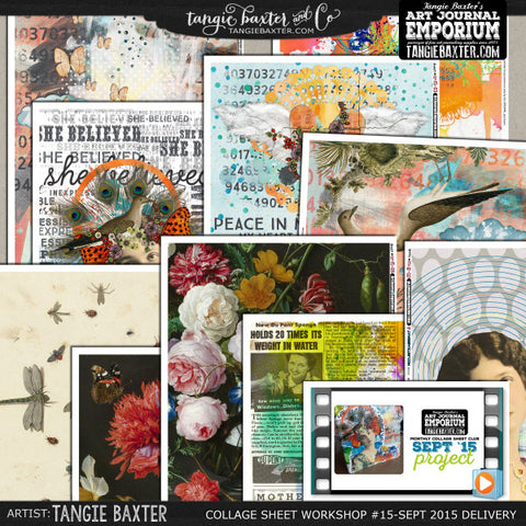 -Collage Sheet Workshop #15 {September '15 Delivery}