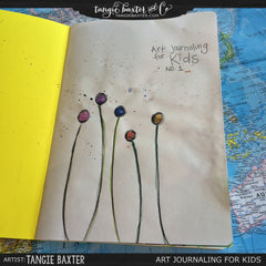 Art Journaling for Kids Online Workshop (Great Summer Activity!)