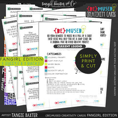 -{BE}MUSED Creativity Cards -Fangirl Special Edition