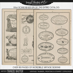 "Vintage ""Rubber, Printing & Stamps"" Catalogue {Commercial Use}"