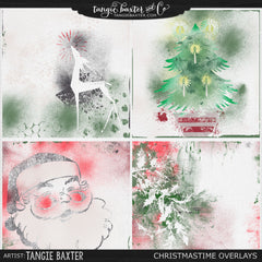 Christmastime Overlays