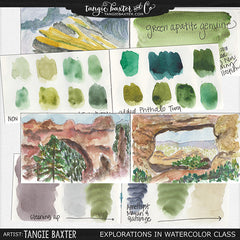 Explorations in Watercolor Online Class